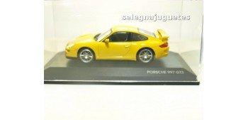 miniature car PORSCHE 997 GT3 Yellow 1/43 Yat Ming