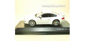 Porsche 997 GT3 blanco vitrina 1/43 Yat ming coche escala Yat Ming