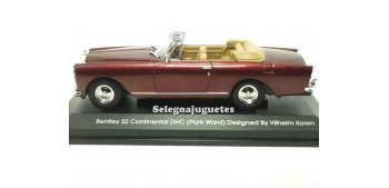 Bentley Continental DHC Burgundy (Pack Ward) 1/43 Yat ming coche metal miniatura