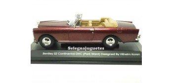 miniature car Bentley Continental DHC Burgundy (Pack Ward) 1/43
