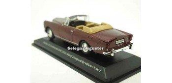 Bentley Continental DHC Burgundy (Pack Ward) 1/43 Yat ming coche metal miniatura