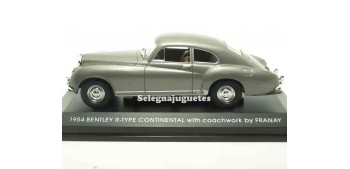 miniature car Bentley R-Type Continental Silver with coachwork