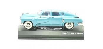 maquetas de coches Tucker Torpedo Azul 1/43 Yat ming