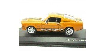 Shelby GT-500KR 1967 naranja vitrina 1/43 Yat ming coche metal Yat Ming