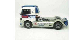 camion miniatura Mercedes Atego Race 1999 Truck Drive 1/43 High