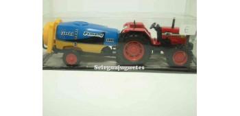 Tractor con remolque deposito Guisval metal Guisval