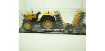 Tractor con remolque amarillo Guisval metal Guisval