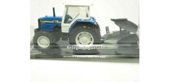 Tractor azul Guisval metal Guisval