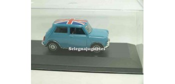 coche miniatura Mini cooper azul (Vitrina) 1/43 Guisval