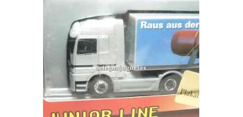 Mercedes Benz Actros logotipo negro 1/87 schucco camion escala miniatura Schucco