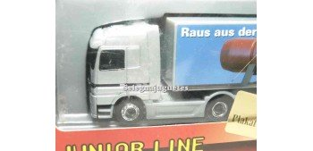 Mercedes Benz Actros logotipo black 1/87 schucco