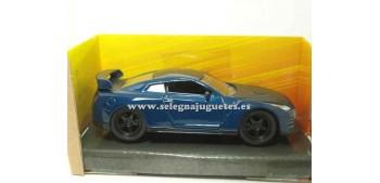miniature car Brian`s Nisssan GT-R (R35) Fast & Furious 1/32