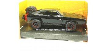 coche miniatura Dom´s Dodge Carger R/T ruedas Fast & Furious
