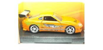 coche miniatura Brian´s Toyota Supra Fast & Furious 1/32 Jada