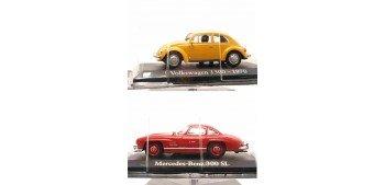 Lote: Mercedes Benz 300SL y Volkswagen 1300 1970 1/43 Ixo