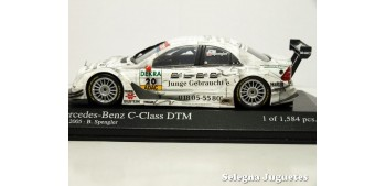 miniature car Mercedes Benz C-Class DTM 2005 SPENGLER White