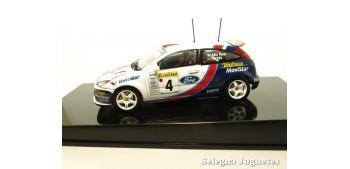 miniature car Ford Focus WRC 2001 Mcrae Grist Montecarlo 1/43