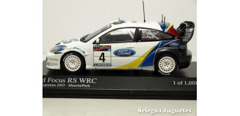 miniature car Ford Focus RS WRC 2003 Argentina Maertin 1/43
