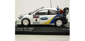 miniature car Ford Focus RS WRC 2003 Argentina Maertin 1/43