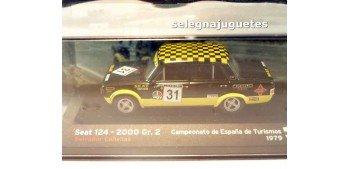 Seat 124 2000 Gr. 2 Campeonato España Turismos 1979 escala 1/43 Ixo Ixo