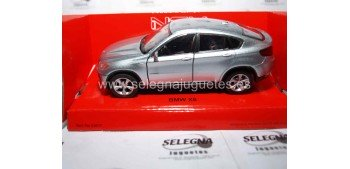 Bmw X6 gris escala 1/34 a 1/39 Welly Coche metal miniatura Welly