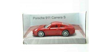Porsche 911 Carrera S rojo escala 1/43 Mondo Motors Coche miniatura Mondo Motors