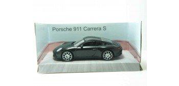 Porsche 911 Carrera S negro escala 1/43 Mondo Motors Coche metal miniatura Mondo Motors