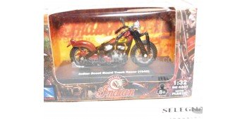Indian Scout Board Track Racer 1940 escala 1/32 New Ray moto minaitura New Ray