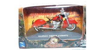 Indian chief 1947 escala 1/32 New Ray moto minaitura New Ray
