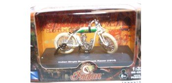 Indian Single Board-Track Racer 1914 escala 1/32 New Ray moto minaitura New Ray