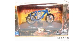 moto miniatura Indian Twin Racer 1908 1/32 New Ray
