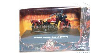 Indian Junior Scout 1937 escala 1/32 New Ray moto minaitura New Ray