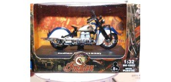 Indian Four 1939 escala 1/32 New Ray moto minaitura New Ray