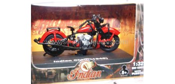 moto miniatura Indian Chief 1945 escala 1/32 New Ray