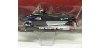 miniature motorcycle Polaris RMK 500 1/24 Moto de Nieve Yat Ming