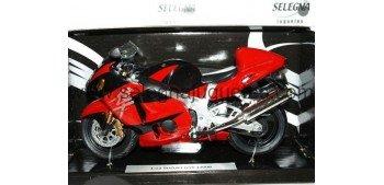 Suzuki Gsx 1300 R roja escala 1/12 Joycity moto miniatura escala Joycity