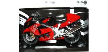 moto miniatura Suzuki Gsx 1300 R roja 1/12 Joycity
