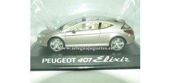 miniature car Peugeot 407 Elixir 1/43 Rba