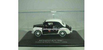 """Renault 4cv """"pie"""" Policia Francia 1956 1/43 Rba"""