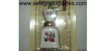 Molinillo café (miniatura) porcelana blanca