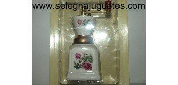 Molinillo café (miniature) porcelana blanca