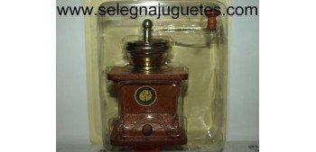 Molinillo café madera recipiente recogedor
