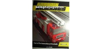 Carro Portaescalas articulado - Fascículo 1 - Grandes Camiones Editorial Sol90