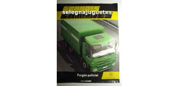 Furgón Policial - Fascículo 10 - Grandes Camiones Editorial Sol90