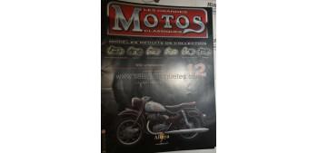 Les Grandes Motos Clasiques - Fasciculo 12 - NSU Supermax año