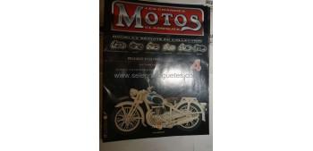 Les Grandes Motos Clasiques - Fasc 04 - Peugeot 55 GL año 1951