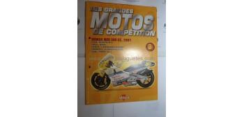 Les Grandes Motos de Competition - Fasciculo en Frances 03 - Honda Nsr 500 cc 2001 Altaya