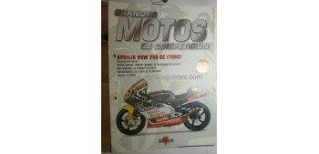 Grandes Motos de Competición - Fasciculo 58 - Aprilia Rsw 250 cc 1999 Altaya