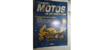 Grandes Motos de Competición - Fasciculo 55 - Honda Cbr 600 Fs 2002 Altaya
