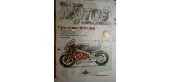 Grandes Motos de Competición - Fasciculo 54 - Aprilia Rsw 125 cc 2002 Altaya